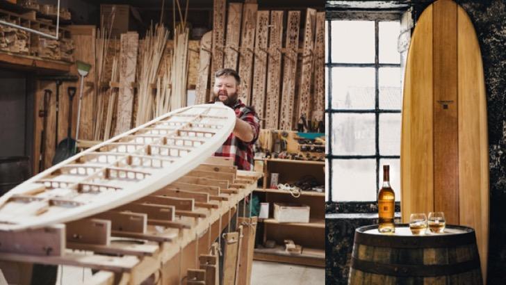 Aus Whiskyfässern gefertigt