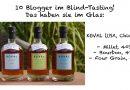 Blind Tasting: 10 Blogger im Vertical Tasting