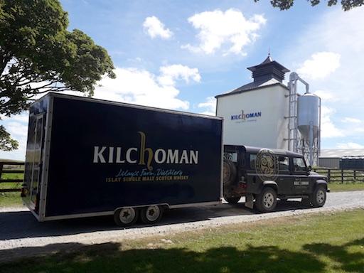 Kilchoman auf Europatour