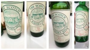 4 Drams aus den SMWS Archives