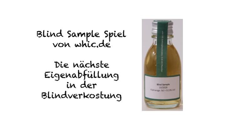 Blind Sample Spiel von whic.de