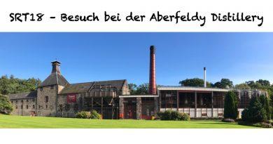 Destillerietour bei Aberfeldy 2018 mit Bildern