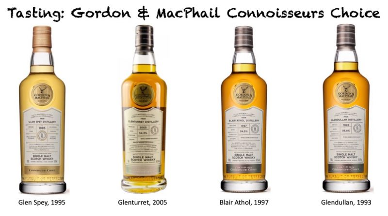Tasting Gordon & MacPhail Connoisseurs Choice