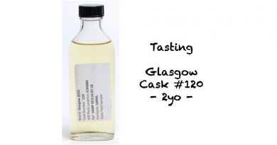 Tasting Glasgow Cask 120 2yo