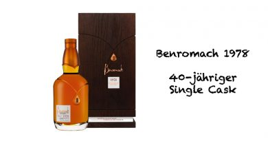Benromach 1978 40-jähriger Single Cask Single Malt