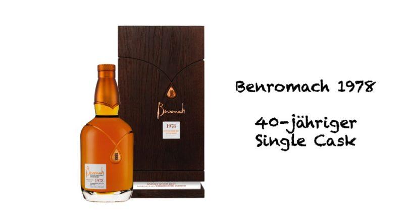 Benromach 1978 40-jähriger Single Cask Single Malt
