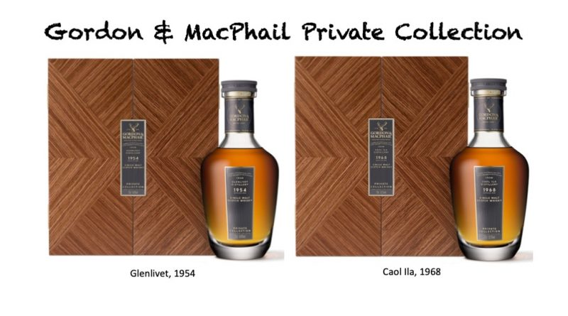 G&M Private Collection, Glenlivet, Caol Ila