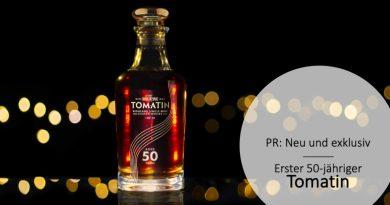 Tomatin 50yo - bisher älteste Originalabfüllung