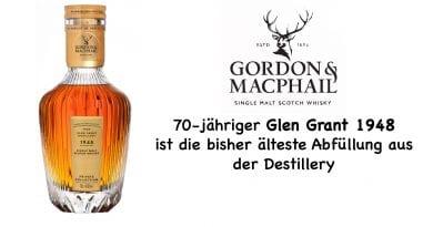 Gordon & MacPhail Glen Grant 70 Jahre von 1948