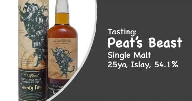 Tasting Peat's Beast 25 Jahre