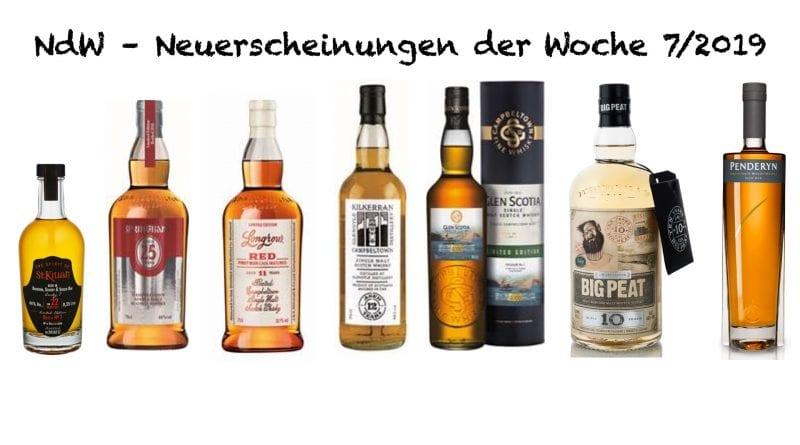 Whisky Neuerscheinungen 7|19