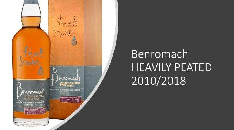 PR: Benromach HEAVILY PEATED 2010/2018