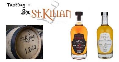 Tasting - 3x Spirit of St Kilian