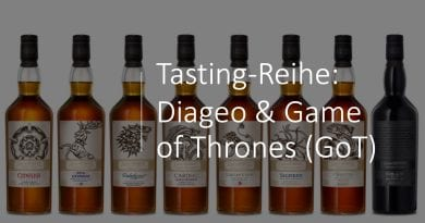 Tasting-Reihe: Diageo & Game of Thrones (GoT)