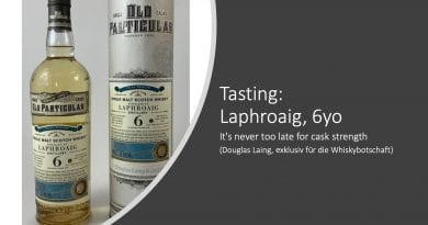 Tasting Laphroaig Whiskybotschaft