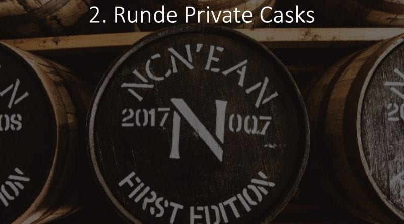 Private Casks Ncn'ean - 2. Runde