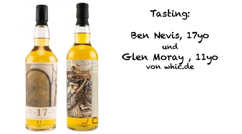 Tasting whic.de - Ben Nevis und Glen Moray