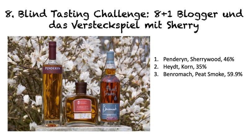 Blind Tasting Challenge 8 - Versteckspiel mit Sherry