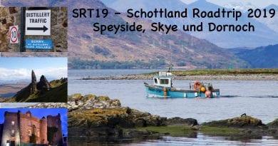SRT19 Schottland Roadtrip 2019 – Speyside, Skye und Dornoch
