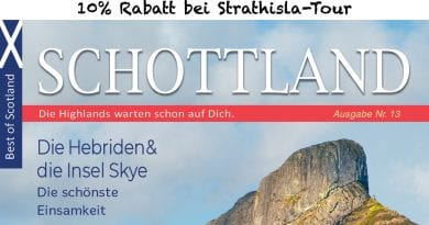 10% Rabatt bei Strathisla Tour