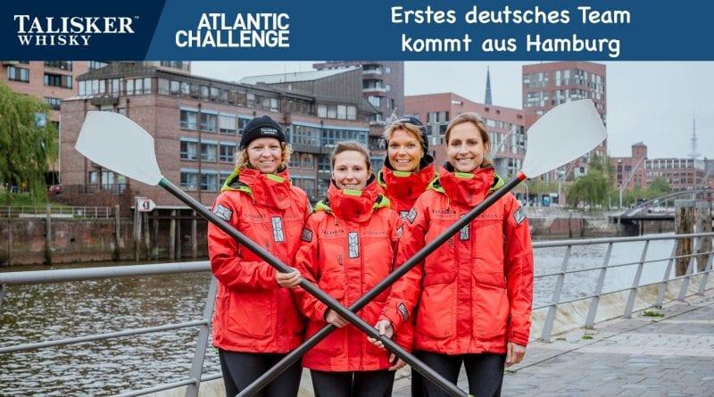 Erstes deutsches Team bei der Talisker Ruderchallenge kommt aus Hamburg