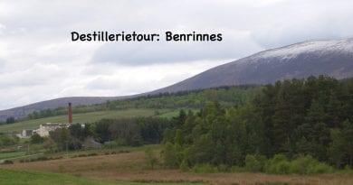 Destillerietour Benrinnes 2019