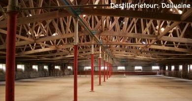 Destillerietour Dailuaine 2019