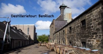 Destillerietour BenRiach