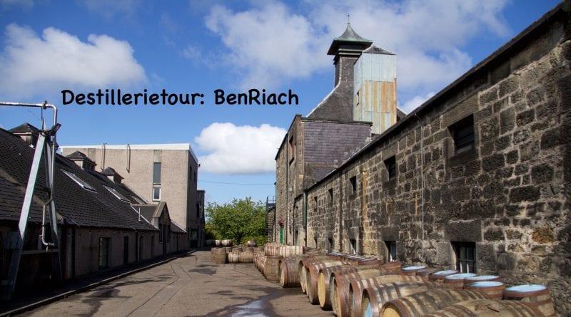 Destillerietour BenRiach