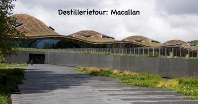 Destillerietour Macallan 2019