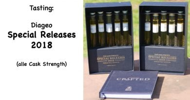 Tasting Diageo Special Releases 2018