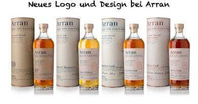 Neues Design und Logo bei Arran