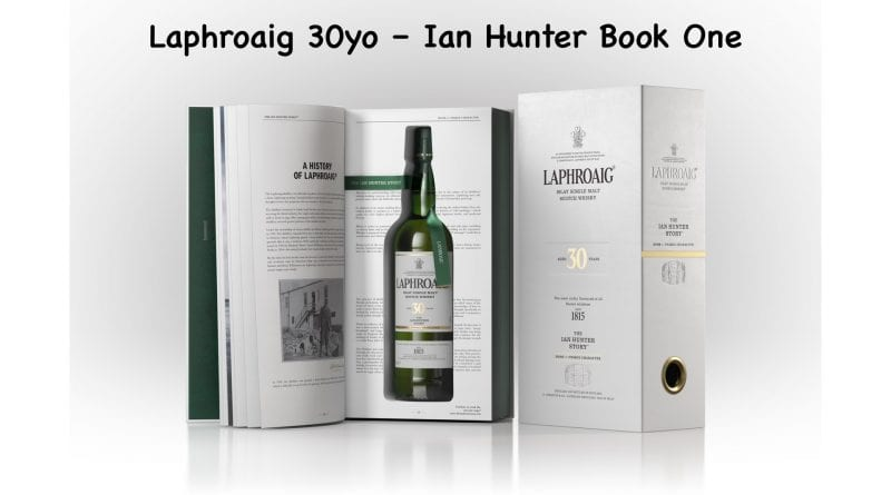PR: 30 Jahre alter Laphroaig – Ian Hunter: Book One