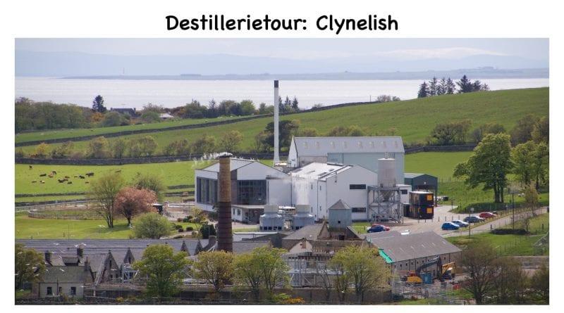 Destillerietour bei Clynelish mit Schokolade