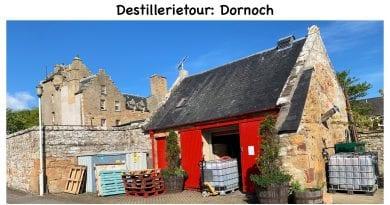 Destillerietour Dornoch