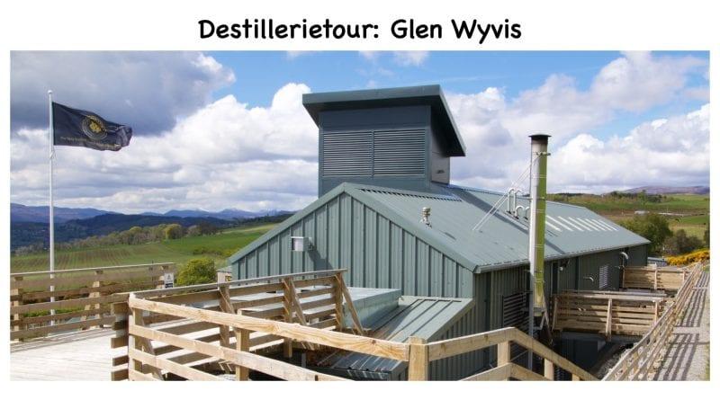 Destillerietour bei Glen Wyvis