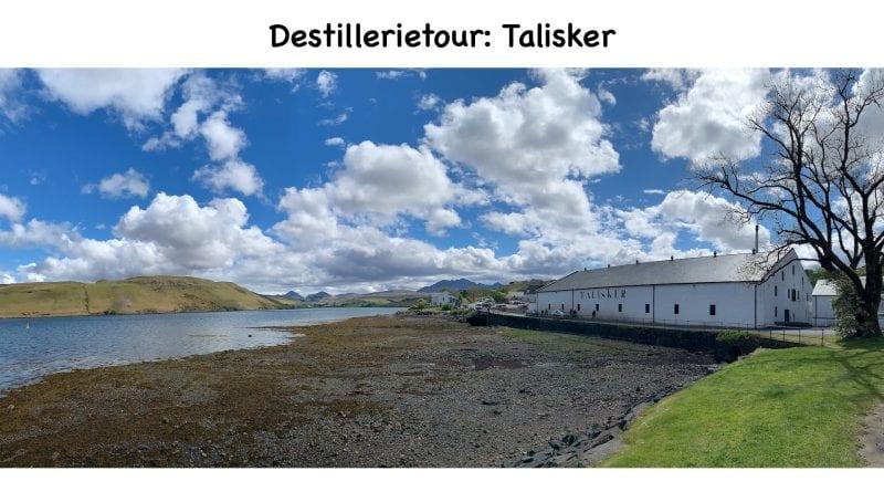 Destillerietour Talisker