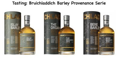 Tasting Bruichladdich Barley Provenance Serie