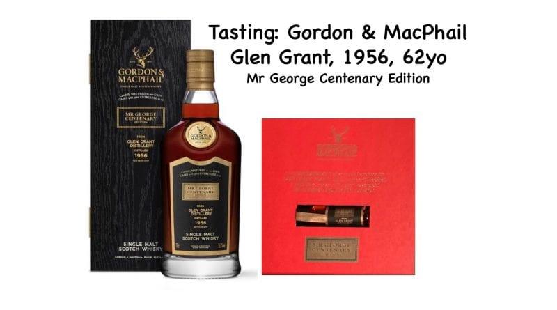 Tasting: G&M Glen Grant 1956 – 62yo – Mr George