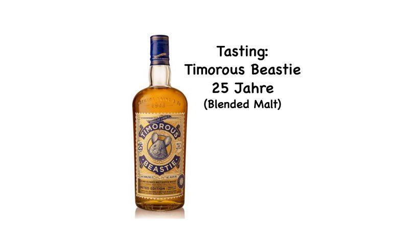 Tasting: Timorous Beastie 25 Jahre