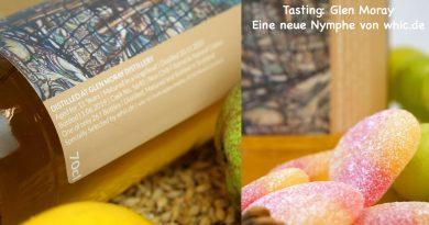 Tasting whic Glen Moray