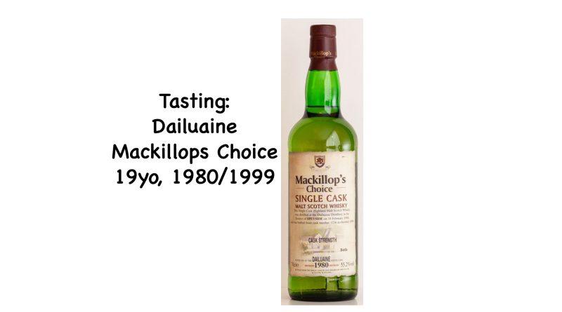 Tasting Dailuaine 1980