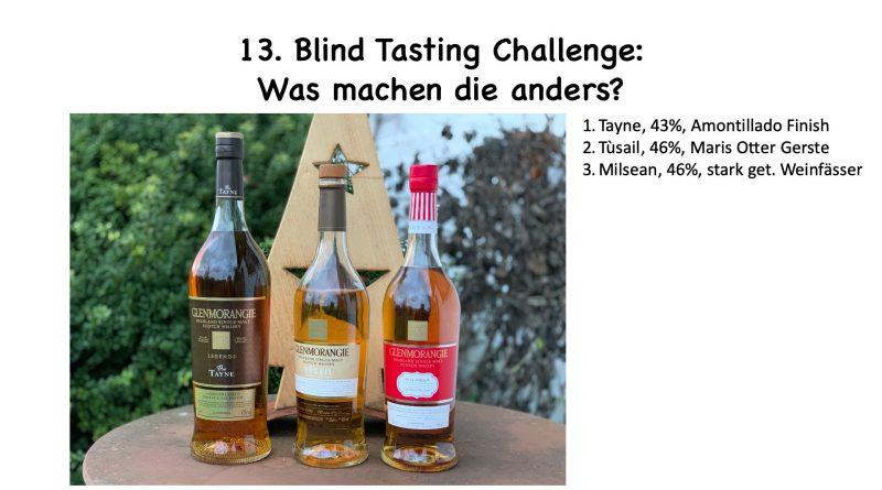 Blind Tasting Challenge Glenmorangie