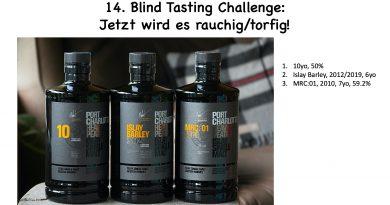 Blind Tasting Challenge Torfig Port Charlotte
