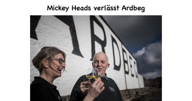 Mickey Heads verlässt Ardbeg