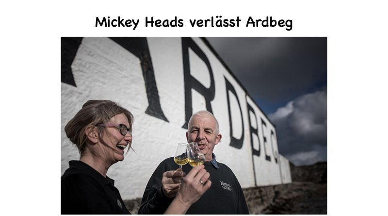 News: Mickey Heads verlässt Ardbeg
