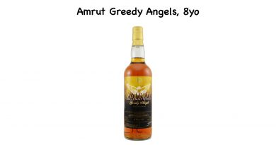 Tasting Amrut Greedy Angels
