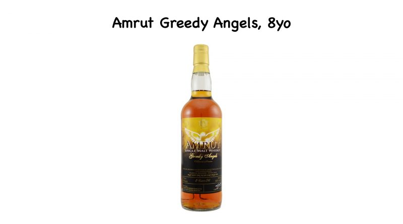 Tasting: Amrut Greedy Angels, 8yo