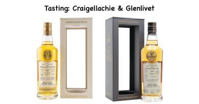Tasting Craigellachie und Glenlivet