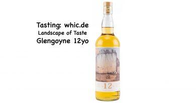 Tasting whic Glengoyne 12yo